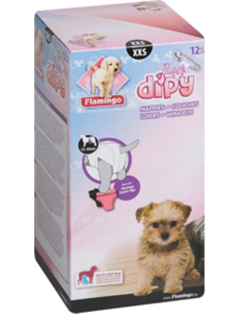 Hondenluiers dipy 12 st. - xxs