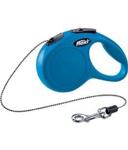 Flexi new classic koord xs blauw 3m-8kg