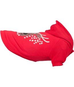 Hondentrui led kerst rood 25cm