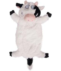 Pluche boerderijdier koe 33cm
