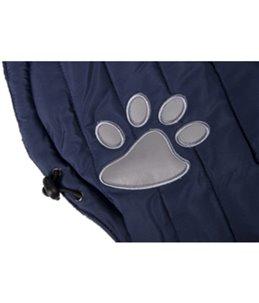 Hondenjas paw blauw 55cm