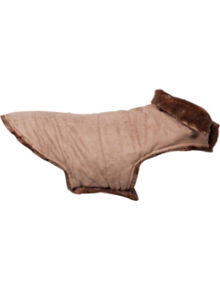 Hondenjas grizly beige 35cm