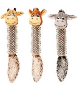 Koe/paard/ezel+stekels 45cm ass