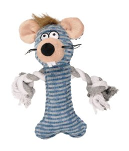 Nicky hs muis met touw 22 cm
