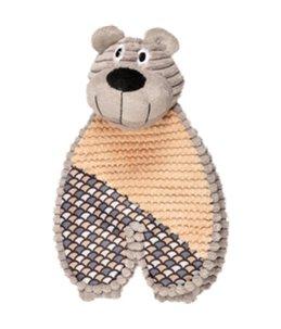 Elliot berenkop + voeten grijs 30cm