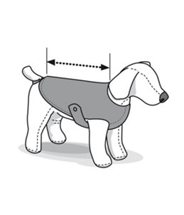 Hondenjas nordic 50cm