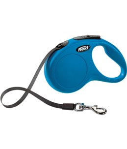 Flexi new classic band s blauw 5m- 15kg