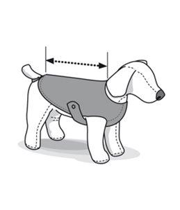 Hondenjas led 45cm