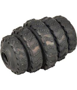 Hs rubber gladiator tyre roller zwart 8cm