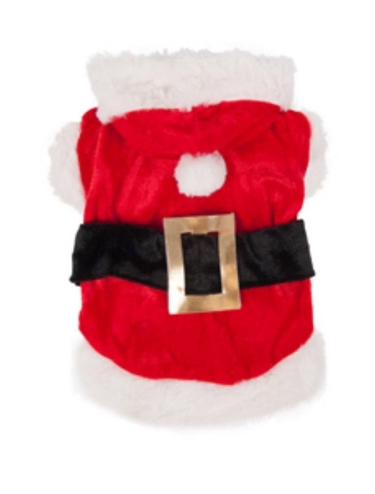 Hondentrui kerstman kostuum 20cm