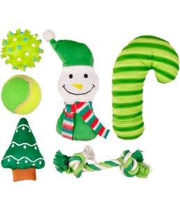 Kerst hs sok ass groen