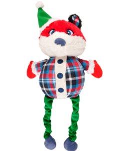 Kerst hs vos + bungee benen 51cm