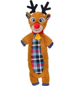 Kerst hs rendier crincle lijf 42cm
