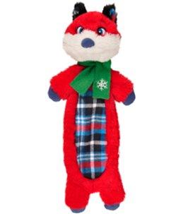 Kerst hs vos crincle lijf 36cm