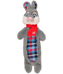 Kerst hs konijn crincle lijf 42cm