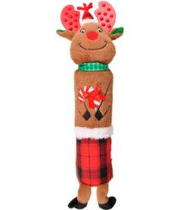 Kerst hs rendier+faom 41cm
