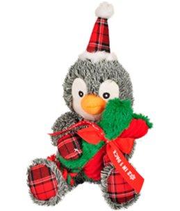 Kerst hs pinguin+been 2 in1 43cm