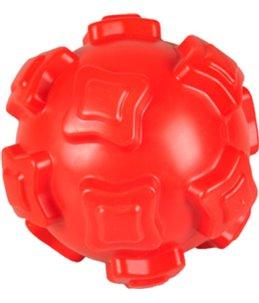 Hs bal brutus rood tpr 15cm met squeaker