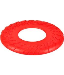 Hs disc brutus rood tpr 25cm met squeaker