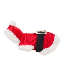 Hondentrui kerstman kostuum 15cm