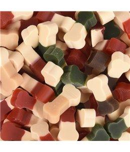 Dual mini bone mix colored 160g