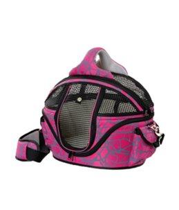 Draagtas finchley de luxe roze nylon m