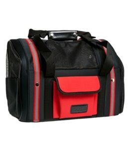 Draagtas smart bag zwart/rood