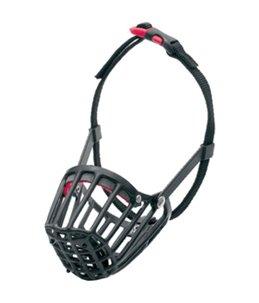 Muilkorf plast m 29cm 30-52cm zwart