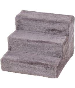 Easy step hondentrap grijs 45x60x40cm