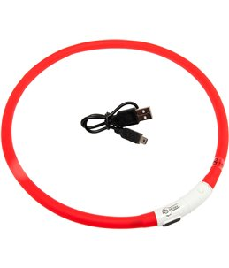 Visio light led halsband rood 70cm
