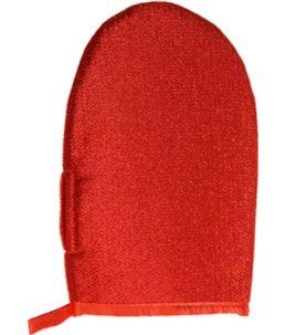 Verzorgingshandschoen rood 24x16c