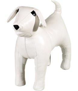 Display hond wit l - 45cm