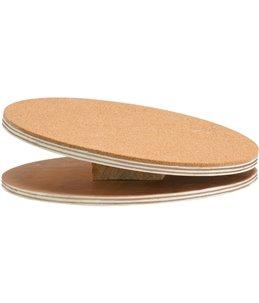 Bogie disc houten loopsch+kurk 25cm