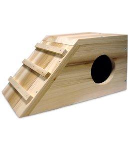 Slaaphok hout cavia cabana