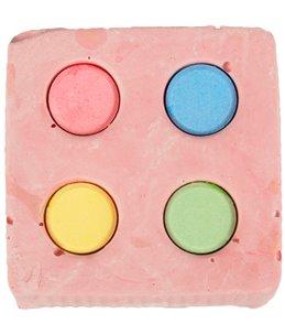 Calcium kubus 4 kleuren 120g