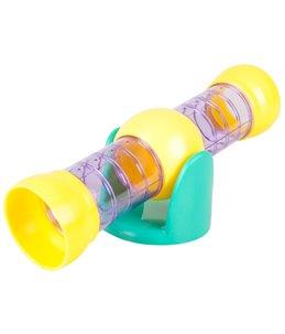 Ks bertrand wip buis paars geel 26,5x9,5x9,5cm