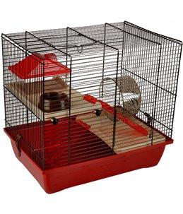 Hamsterkooi enzo 2 41,5x28,5x38cm