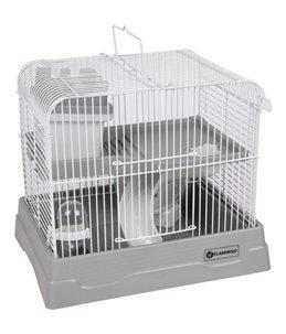 Hamsterkooi dinky grijs 30x23x26cm