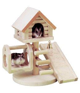 Wonderland huizen knaagd 21x22x16