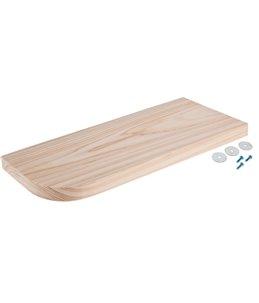 Zitplank natuurhout 30x14x1.8cm