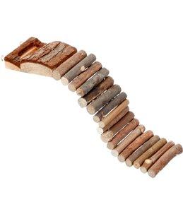 Brug hout 27x7cm