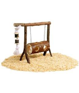 Schommel hout 31x25cm