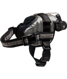 Xtreme 2.0 tuig grijs 57-70cm40mm waterafstotend