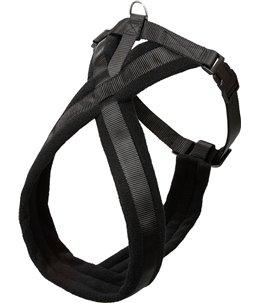 Asp cross tuig zwart 52-60cm25mm s/m