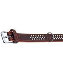Rondo halsband kn bruin 42cm25mm