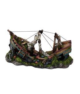 Three masted ship