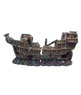 Decoration shipwreck