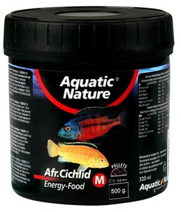 Cichlid food energy medium