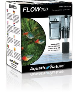 Hang on filter flow 200