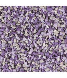 Grind gruzo lila-paars-grijs 1kg